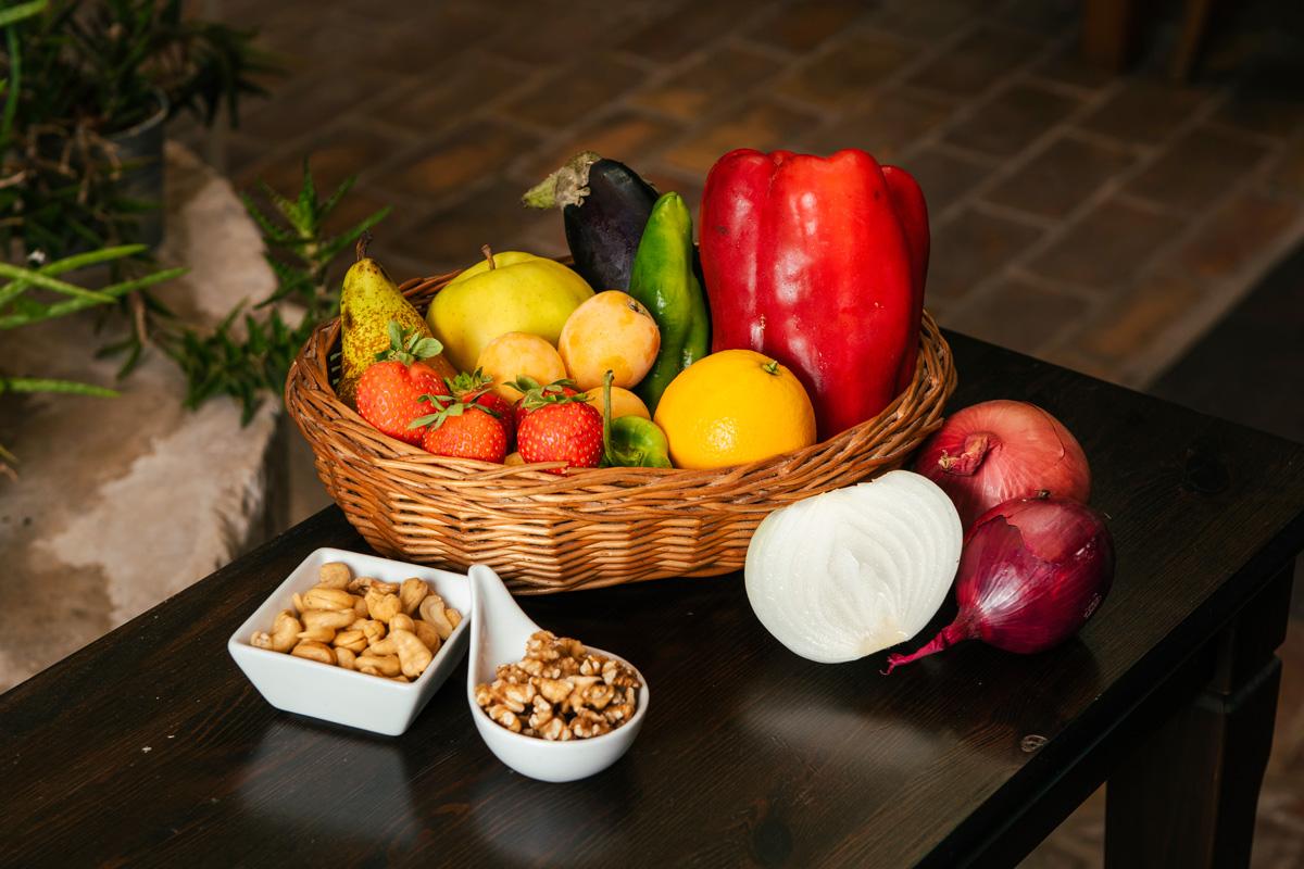 Fruta y verduda